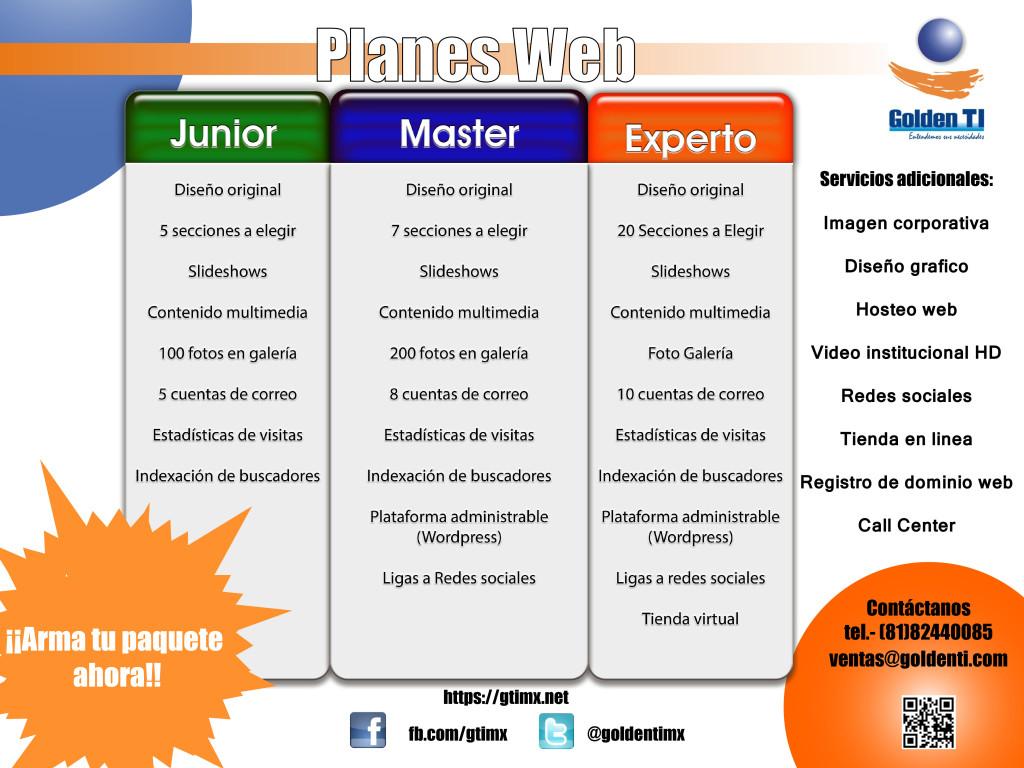 PLANES WEB