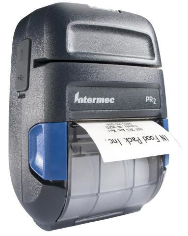 Intermec Impresora Móvil PR2, Térmica Directa , Inalámbrico/Alámbrico, USB 2.0, Gris
