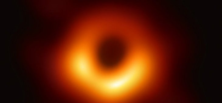 Lo nunca visto: la primera foto de un agujero negro