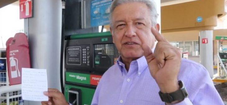 Gasolina ha subido porque gasolineros aumentaron sus ganancias: AMLO